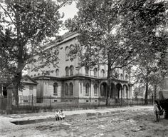 "Mobile, Alabama, circa 1901. ""Alabama Medical College."" 8x10 inch dry plate glass negative, Detroit Publishing Company."