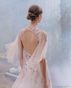 Wedding dress EVA fairy wedding dress vintage style wedding #affiliatelink