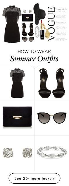 """clicked a random item and made n outfit"" by salorah on Polyvore featuring Sandro, Yves Saint Laurent, Gucci and Chanel"