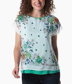 Loose, floral top