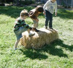 let the children play: Making hay while the sun shines