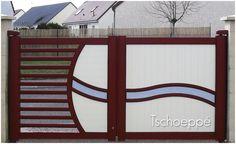 Iron Main Gate Design, Home Gate Design, Steel Gate Design, Front Gate Design, Door Design, Exterior Design, Wrought Iron Decor, Wrought Iron Gates, Compound Gate Design