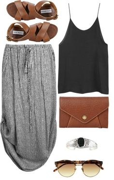 Everyday Comfy Summer Outfit! Love this look!