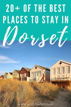 Where to Stay in Dorset - recommendations for the best hotels, glamping, campsites, and cottages in Dorset, England Lulworth Cove, Dorset Coast, England Beaches, Dorset England, Jurassic Coast, Hiking Tips, Hiking Gear, Great Hotel, Winter Camping