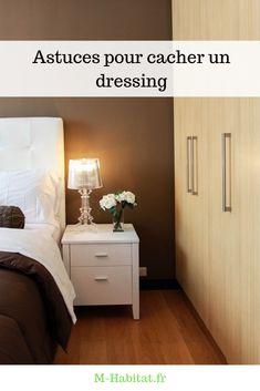 M-habitat vous donne donc ici quelques #astuces pour cacher votre #dressing et le fondre dans le décor.