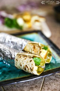 Paneer Frankie in spicy green chillies and garlic yoghurt sauce. Frankies are best dinner recipes...