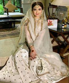 Pakistani Party Wear Dresses, Nikkah Dress, Shadi Dresses, Pakistani Wedding Outfits, Pakistani Dress Design, Indian Outfits, Hijab Dress, Dresses Dresses, Pakistani Designers