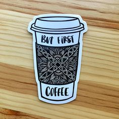 Zentangle pero primero café