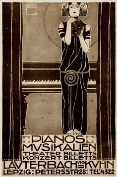 Ludwig Hohlwein (1874-1949), Ticket Agency. (G)
