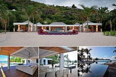 Price: $18,786,259Bedrooms: 5Bathrooms: 5Square Footage: N/AThis contemporary beachfront  is set on half an acre in the Caribbean. A large sun deck around infinity pools leads out to the blue ocean. Four of the bedrooms with private baths are situated around the decks, and the master with a kitchen and terrace is set back in the rear garden.