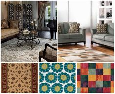 Select Right #AreaRugs with Color, Design and Size that Match Your Home