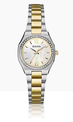 Bulova Diamond 98R204 #Bulova #Diamonds
