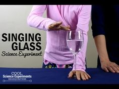 How to Make a Wine Glass Sing Sound Science, Cool Science Experiments, Science Fair Projects, Water Into Wine, Music For Kids, Music Therapy, Music Education, Science And Technology, Cool Kids