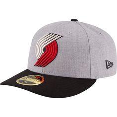 New Era Men's Portland Trail Blazers 59Fifty Low Crown Grey Fitted Hat