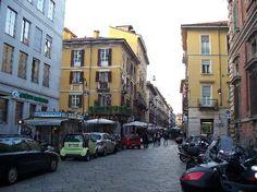 Brera district (shopping and dining) - Milan, Italy