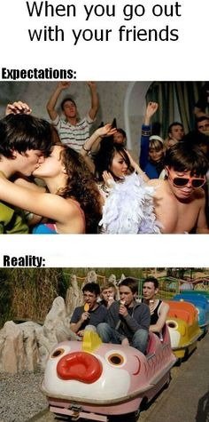 Sometimes in life what we expect is not the reality Pics) ~ Humor Pictures 24 - Funny Videos, Funny Clips, Funny Pictures Videos Funny, Funny Memes, Jokes, Hilarious, Funny Quotes, The Inbetweeners, Expectation Vs Reality, Friends Laughing, Just For Laughs