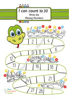 Numbers For Kids, Numbers Preschool, Learning Numbers, Preschool Math, Kindness Activities, Kindergarten Math Worksheets, Preschool Activities, Learning English For Kids, Kids Learning