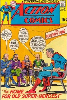 Crazy Old Comics SaturdaysI want to try something new. I read 2 old comic book stories. So i am gonna post some panels and summaries for them. Action Comics In this story, Superman goes to the. Old Comic Books, Comic Book Covers, Comic Book Characters, Comic Character, Old Superman, Superman Comic, Superman Family, Batman, Old Comics