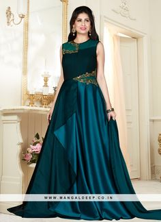 Indowestern Gowns, Sharara, Designer Gowns, Indian Designer Wear, Casual Gowns, Fancy Kurti, Best Gowns, Sari Dress, Gowns For Girls