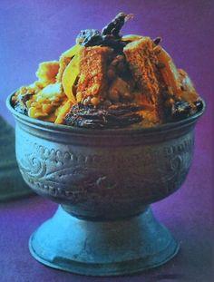 Il couscous di pane perso è un' antica ricetta popolare delle comunità ebraiche e musulmane alle quali la tradizione vietava di sciupare il pane.