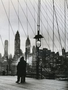 Mario De Biasi Dal ponte de Brooklyn, 1955 From Fotografia, Professione E Passione Thanks to liquidnight