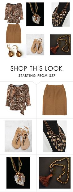 """""""Fall in California"""" by artistinjewelry ❤ liked on Polyvore featuring Gina Bacconi and Marni"""
