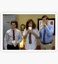 Workaholics Sticker