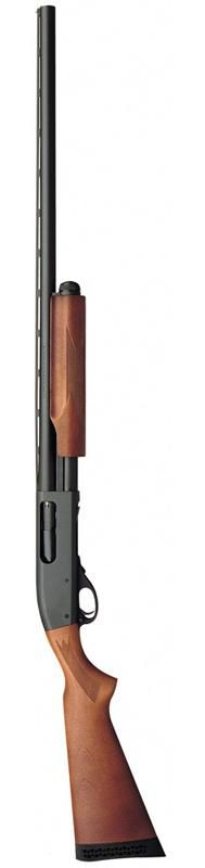 """Remington Model 870    Introduced in 1949 the Model 870 remains in production today and could conceivably be called""""America's Favorite Pump Shotgun."""" Several million have been sold in a variety of barrel and stock configurations, and it has also seen military service."""