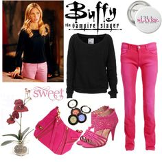 Buffy Summers Style #1 (I only like the outfit anything else isn't really for me)