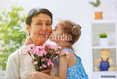 """Download the royalty-free photo """"happy mothers day"""" created by Konstantin Yuganov at the lowest price on Fotolia.com. Browse our cheap image bank online to find the perfect stock photo for your marketing projects!"""