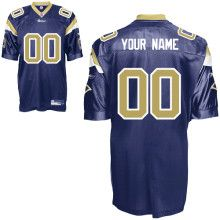 c6f241a80 Authentic Reebok St. Louis Rams Team Color Customized Jersey