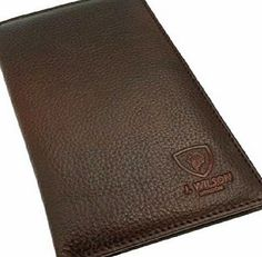 J. Wilson London Designer Mens Genuine Real Quality Leather Jacket Coat Credit Card Wallet Tall (5308 BROWN) Bi- fold designRRP £49.9912 Credit card slots including1 ID Pouch3 Note pockets1 Zipped Note PocketZip fastening coin purseSize 180 mm x 100 mm When ClosedSize 18 (Barcode EAN = 0634041072858) http://www.comparestoreprices.co.uk/december-2016-week-1/j-wilson-london-designer-mens-genuine-real-quality-leather-jacket-coat-credit-card-wallet-tall-5308-brown-.asp