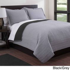 Baltic Solid Reversible 3-piece Quilt Set - Overstock™ Shopping - Great Deals on Quilts...Another option