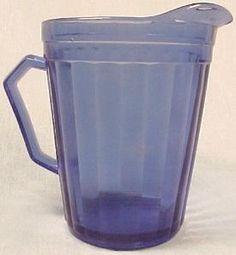Aurora Cobalt Blue Creamer