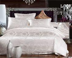 Home textile Stain Jacquard bedding set duvet cover set bed sheet bed linen bedclothes bed cover set roupa de cama bedspread