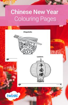 Get creative this Chinese New Year with these themed colouring sheets! With 22 designs to choose from, including a lantern, chopsticks and more, there's a design to suit everyone, including both adults and children. Click to download and find more Chinese New Year themed teaching ideas over on the Twinkl website. #chinesenewyear #yearoftheox #cny #colouringpages #colouringsheets #teaching #teachingresources #twinkl #twinklresources #parents #homeschooling #homeeducation #mindfulness Chinese New Year Activities, New Years Activities, Colouring Sheets, Colouring Pages, Kindergarten Art, Preschool, New Year Card Making, New Year Coloring Pages, British Values
