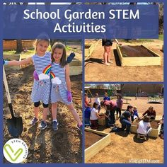 Have you thought about growing plants for multiple purposes at your school? We just built a school garden to grow vegetables! It started as a STEM design challenge with weeks of planning by my students. They submitted their designs, planting plans, materials and budget and even built a 3D scale model of their designs. The winning design was then built and we are now doing science experiments and observations throughout all grade levels as we watch our seeds grow!#STEM #STEMeducation #STEMed Math Games For Kids, Fun Math Activities, Stem Careers, Engineering Design Process, Feedback For Students, Planting Plan, Math Practices, Stem Projects, Design Competitions
