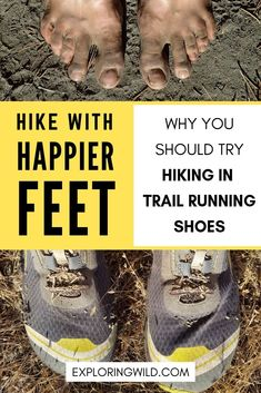 Tons of hikers are hitting the trails in the lightweight comfort of trail running shoes. Learn about the most popular models, the pros and cons of hiking in trail running shoes, and how to transition. Backpacking Tips, Hiking Tips, Hiking Gear, Hiking Backpack, Camp Gear, Ultralight Backpacking, Trail Shoes, Trail Running Shoes, Hiking Shoes