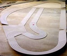 Custom routed ho slot car track turbo poker tournament structure