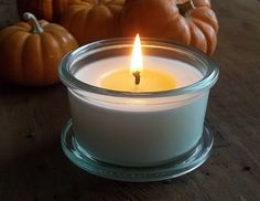 Pumpkin Souffle Mini Weck Jar Candle