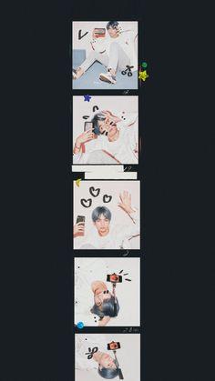 "Remake Version of 'His Roommate' ""Kisah di mana seorang gadis menya… Bts Taehyung, Bts Jimin, Bts Bangtan Boy, Foto Bts, Bts Polaroid, Ariana Grande Fotos, Bts Pictures, Photos, K Wallpaper"