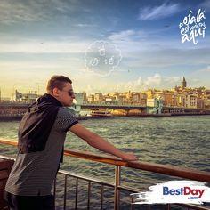 Eminönü es un barrio de la ciudad de #Estambul, #Turquía, una de las ciudades más visitadas del mundo. ¿Junto a quién te gustaría recorrer este impresionante destino?