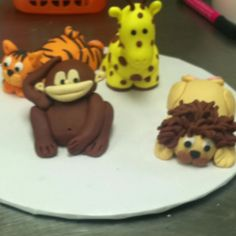 Fondant animals :) ABC Cakes