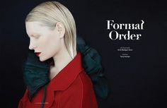 This editorial, for the mood and strong colours like in the clothes (black, white, green, red, yellow)
