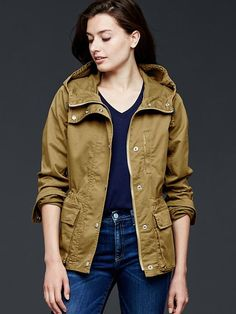Gap   Utility hooded jacket