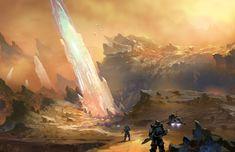 Concept art - Crystal planet., Il su Ko