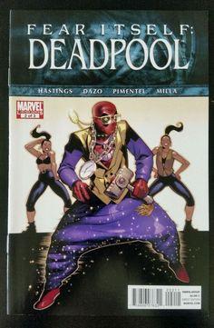 Fear Itself Deadpool #2 of 3 (2011, Marvel) NM Walrus Chris Hastings Bong Dazo