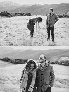 Winter engagement shoot by Emily Adamson