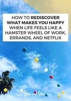 Want to rediscover what makes you happy even if your life is busy, stressful, and a little overwhelming? Read on for implementable happiness tips that will make you feel more fulfilled and satisfied with life! Live Happy, Happy Life, What Makes You Happy, Are You Happy, Happy Facebook, Hamster Wheel, Life Advice, Life Tips, Love Post
