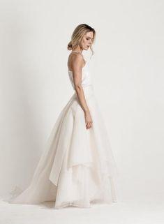 KATRI NISKANEN Bridal Bridal Collection, Wedding Planning, White Dress, Wedding Dresses, Clothes, Future, Design, Fashion, Dress Wedding